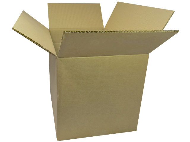 "75 x Double Wall Storage Boxes 12""x12""x12"""